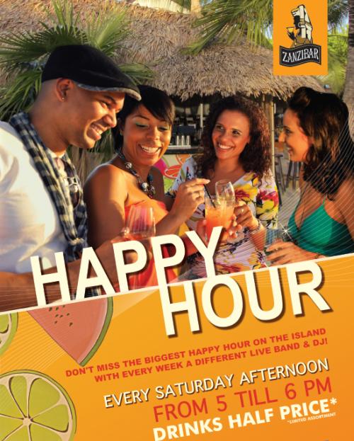 happy hours op curacao